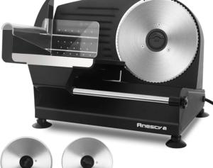 Anescra 200W Electric Deli Food Slicer